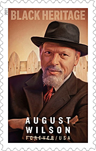 44th Black Heritage Stamp, Honoring Legendary Playwright August Wilson